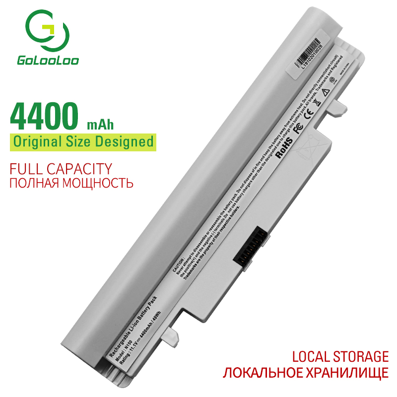 Golooloo 6 cells laptop <font><b>battery</b></font> for <font><b>Samsung</b></font> N143 N143P N145 N145P N148 N148P <font><b>N150</b></font> N150P N250 N250P N260 N260P AA-PB2VC6B      image