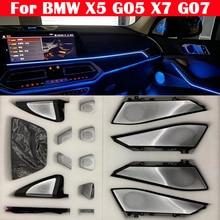 Lampes lumineuses Pour BMW X5 G05 X7 G07 Voiture LED Lumière Ambiante Lueur Tweeter Couverture Garniture Déclairage Haut Parleur Corne Décoratives Panneau