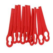 100 шт. Пластиковые Подвески с лезвиями беспроводной триммер для травы садовый Таймер запчасти для инструментов