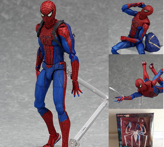 Spiderman The Amazing 199 PVC Action Figure Collectible Model Doll Toy 15cm KT694