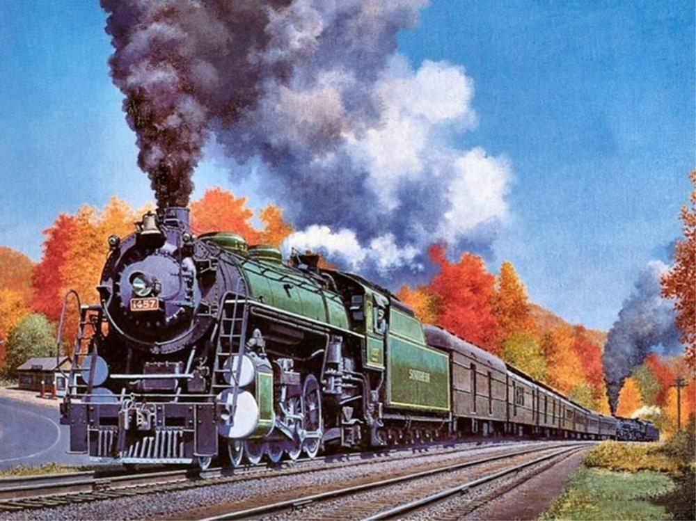интересные поезда для открыток оксана объяснила своим
