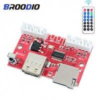 MP3 Bluetooth 5,0 decodificador de Lossless WAV FLAC USB MP3 altavoz reproductor de placa de módulo de Audio TF tarjeta con Control remoto inalámbrico