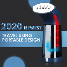 2020 Newest Portable Travel Garment Steamer 900W Handheld Steam Iron Home Travel Vertical Garment Steam Machine 120ml Water Tank handheld steamer kitfort кт 916 handheld steamer for clothes steam generator for home steam cleaner home appliances steamer vertical