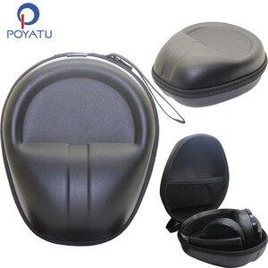 Image 1 - Poyatu 플래티넘 무선 케이스 소니 플레이 스테이션 플래티넘 무선 헤드셋 헤드폰 PS4 헤드폰 운반 파우치 박스