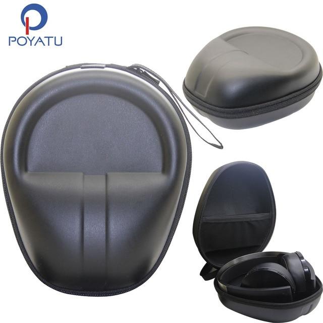 Poyatu 플래티넘 무선 케이스 소니 플레이 스테이션 플래티넘 무선 헤드셋 헤드폰 PS4 헤드폰 운반 파우치 박스