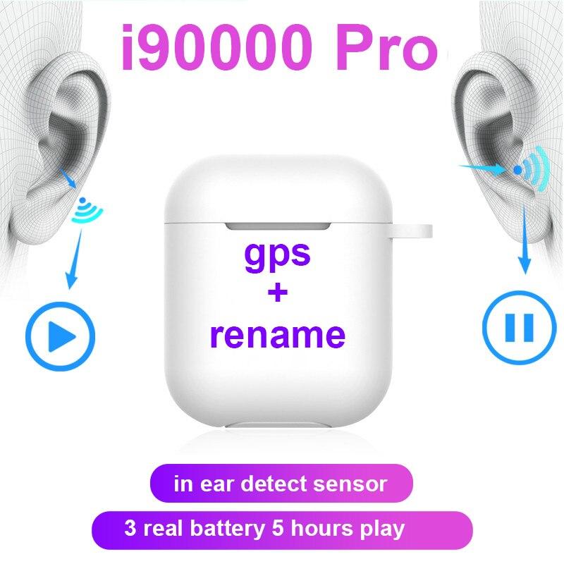 Original i90000 pro tws bluetooth écouteurs 11 na orelha sem fil casques stéréo écouteurs esporte auriculares bluetooth