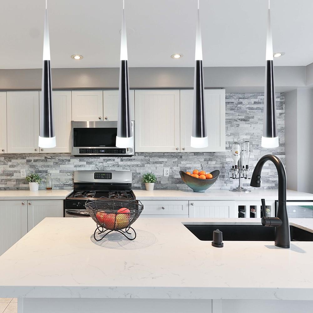 Artpad Silver Conical Aluminium Led Dining Room Hanging Pendant Lamp With 5w Bright Led Creative Pendant Light Restaurant Bar