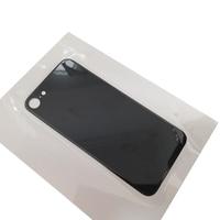 Für iPhone 8 8Plus Zurück Abdeckung Glas LCD Screen Zurück Objektiv Große Loch Glas Ersetzen Handy Reparatur Teile schwarz Weiß Gold Rot      -