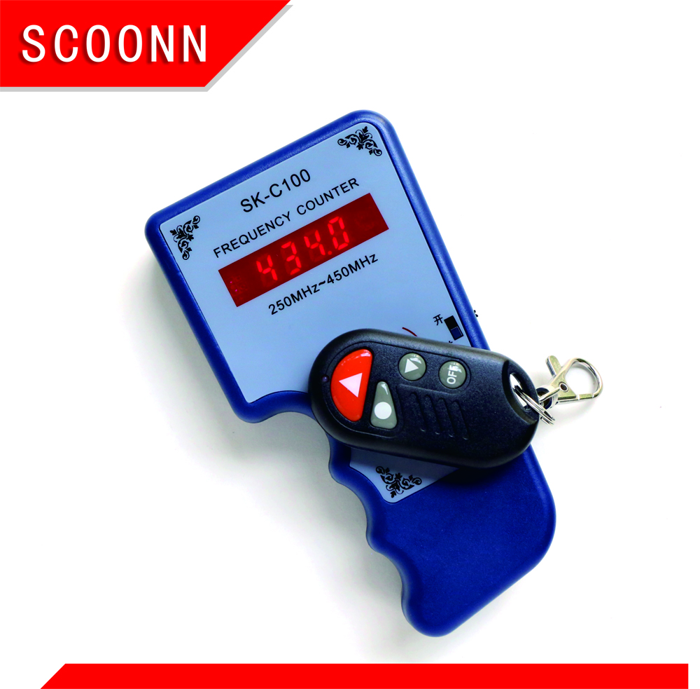 250MHz-450MHz Hand-held remote frequency counter,locksmith tool,car key frequency tester, frequency meters