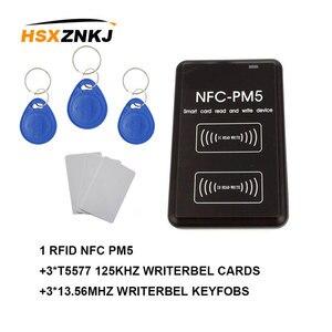 New PM5 Writer IC 13.56MHZ RFID Copier NFC Full Decoding Function Reader Duplicator