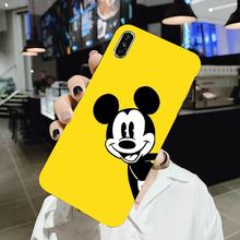 Soft Case Housing For Samsung Galaxy J1 J2 J3 J4 J5 J6 J7 J8 Plus 2018 Prime 2015 2016 2017 Mickey Mouse Cute(China)