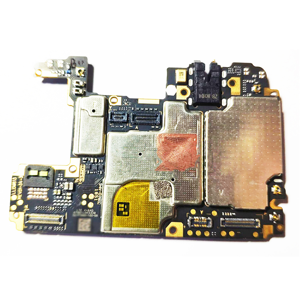 TIGENKEY Original Unlocked  For Redmi Note7 Motherboard 64GB International Edition Note 7 MainBoard  100% Work