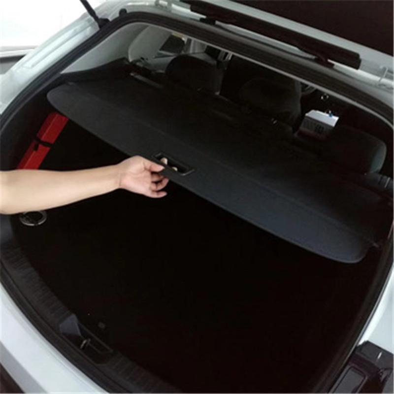 For Mitsubishi Outlander 2013-2018 Car Styling Accessories Cover Curtain Trunk Partition Partition Curtain Partition Rear Racks
