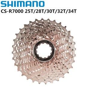 Image 1 - Shimano 105 R7000 11 Velocità Bici Da Strada HG Cassette Pignoni Ruota Libera 12 25T 11 28T 11 30T 11 32T Aggiornamento da 5800