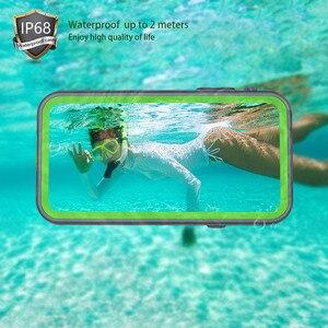 Image 2 - IP68 su geçirmez telefon kılıfı için Apple iPhone 11 X XR XS Max sualtı temizle kılıf kapak iPhone 6 7 8 artı su geçirmez kılıf