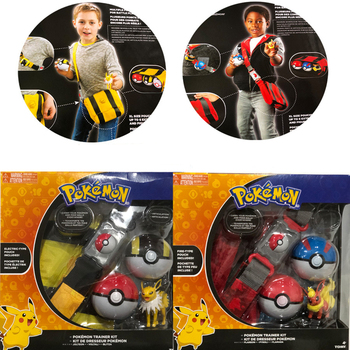 5 unids/set de juguete de Pokémon cinturón mochila bola Pokemon Ibrahim Movik poco dragón de fuego maravilloso Rana Pokemon de muñeca