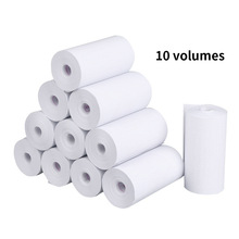 10 Rolls Receipt Thermal Paper 57x30 mm Printing Label Roll for Mobile POS Photo Printer Cash Register Paper Office Stationery
