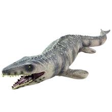 45 см динозавр игрушки Mosasaur Детская игрушка Моделирование пластик мягкий динозавр модель животного