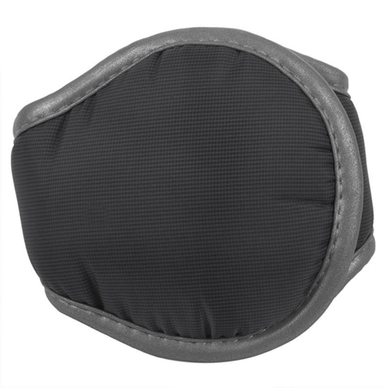 Men / Women's Winter Fleece Compact Ear Muff Warmer Black