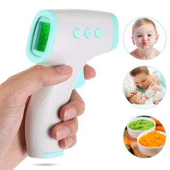 LAMEZIA Non-contact Infrared Body High Precision Temperature Gun Household Human Forehead Thermometer