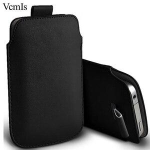 Cuero de la PU de moda Pull Tab manga para Xiaomi Pocophone F1/Poco F1 casos de teléfono bolsa Universal la bolsa protectora