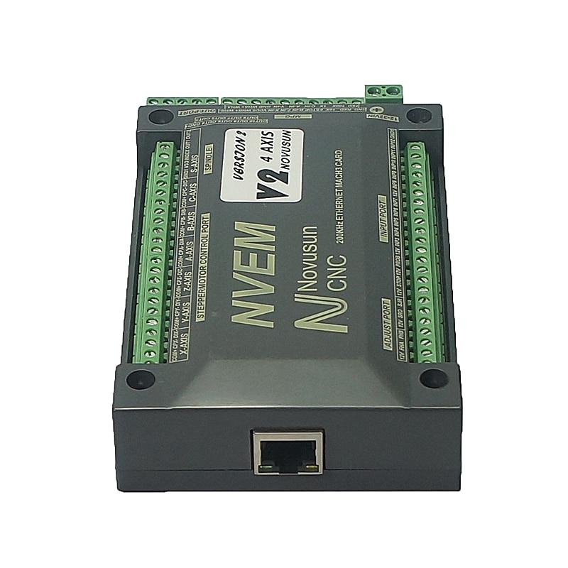 Karta kontrolna NVEM Mach3 200KHz port sieci ethernet dla routera CNC 3 4 5 6 osi