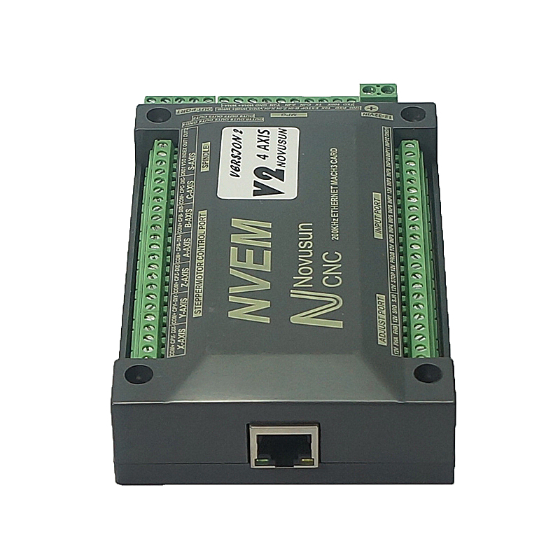 NVEM Mach3 Control Card 200KHz Ethernet Port for CNC router 3 4 5 6 Axis