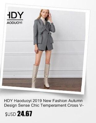 Hb1d4002b7c304042b163cab06039685el HDY Haoduoyi Winter Casual Brown Corduroy Long Sleeve Turn-down Collar Denim Jacket Single Breasted Basic Women Warm Cotton Coat