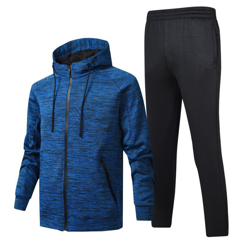 Men Casual Sets Spring Tracksuit Male Hooded Sweatshirt Long Sleeve Pants Sportswear Suits Men Jogging Set Quality Clothing