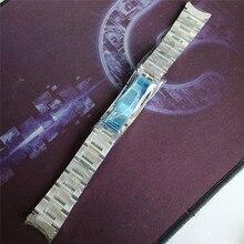 316 Relógio de Aço inoxidável Relógio Banda para SUB 20mm Puxar Os Dentes Fecho para SUB Relógios Acessórios