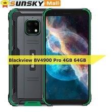 Blackview BV4900 Pro sağlam telefonu 4GB 64GB 13MP su geçirmez 5580mAh 5.7 inç Android 10.0 Helio P22 Octa çekirdekli OTG NFC 4G Smartphone