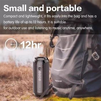 YABA Bluetooth Speaker Portable Wireless Speaker Sound System 3D Stereo Music Surround soundbar TF AUX USB caixa de som 3