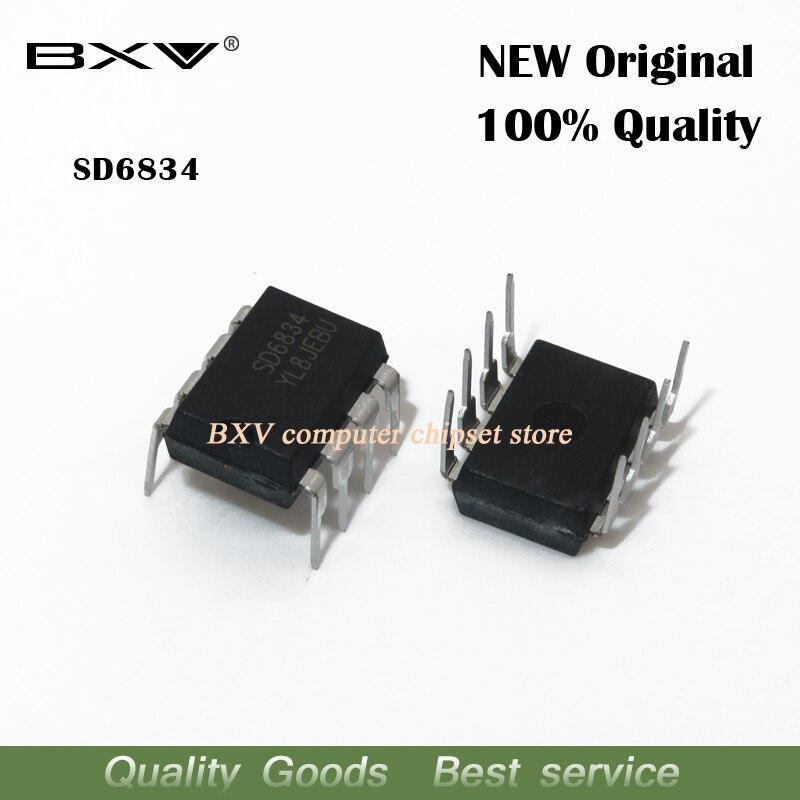 10pcs/lot SD6834 DIP-8 SD6834 DIP New Original Ic