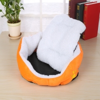 PET Dog Kennel Soft Dog Beds Puppy Cat Bed Pet House For Small And Medium Dog Pad Winter Warm Pet Cushion Pet Product