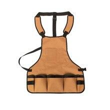 Geoeon açık çok fonksiyonlu alet çantası bahçe saklama çantası Oxford kumaş elektrikçi alet kemeri marangoz aracı önlük
