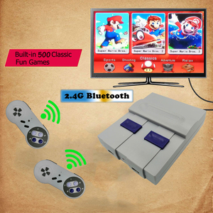 Mini HD AV Wireless Retro Video Game Console Joystick TV Handheld Gaming Player Controller Built-in 500 300 Games Joystick Gift