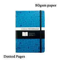Dot Grid Bullet Journal Hard Cover Diary Notebook A5 Dotted Grid BujoTravel Planner