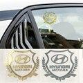1 шт., наклейка на окно автомобиля Hyundai Santa Fe Sonata Solaris Azera Creta I30 Ix25 Tucson IX35