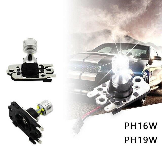 2 pçs 30w 6000k branco ph16w pw16w lâmpadas led apto para bmw e92 e93 audi a7 s7