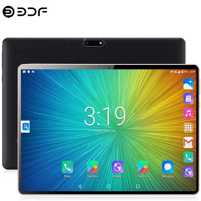 10.1 Inch Tablet PC Android 7.0 4G Phone Call Cota Core 4GB RAM 64GB ROM 5.0MP GPS IPS Dual SIM Cards Tablets PC +Keyboard