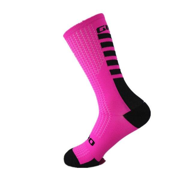2020 meias de compressão quente correndo maratona ciclismo esportes ao ar livre meias de futebol meias de ciclismo 6