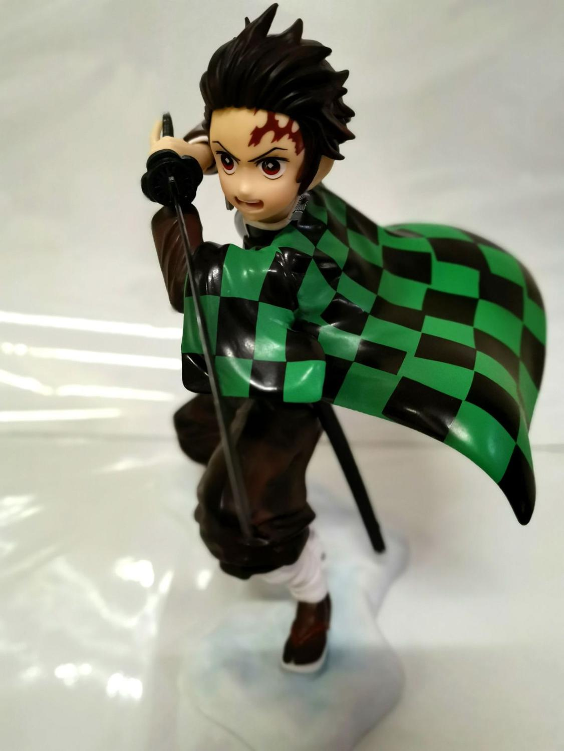Free shipping Demon Slayer Kimetsu no Yaiba Kamado Tanjirou Agatsuma Zenitsu Kamado Nezuko PVC Action Figure Collection Toys B19 1