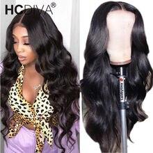 Perruque Lace Front Wig Body Wave péruvienne – Midddle, cheveux naturels Remy, 13*1 T, pre-plucked, avec Baby Hair, pour femmes