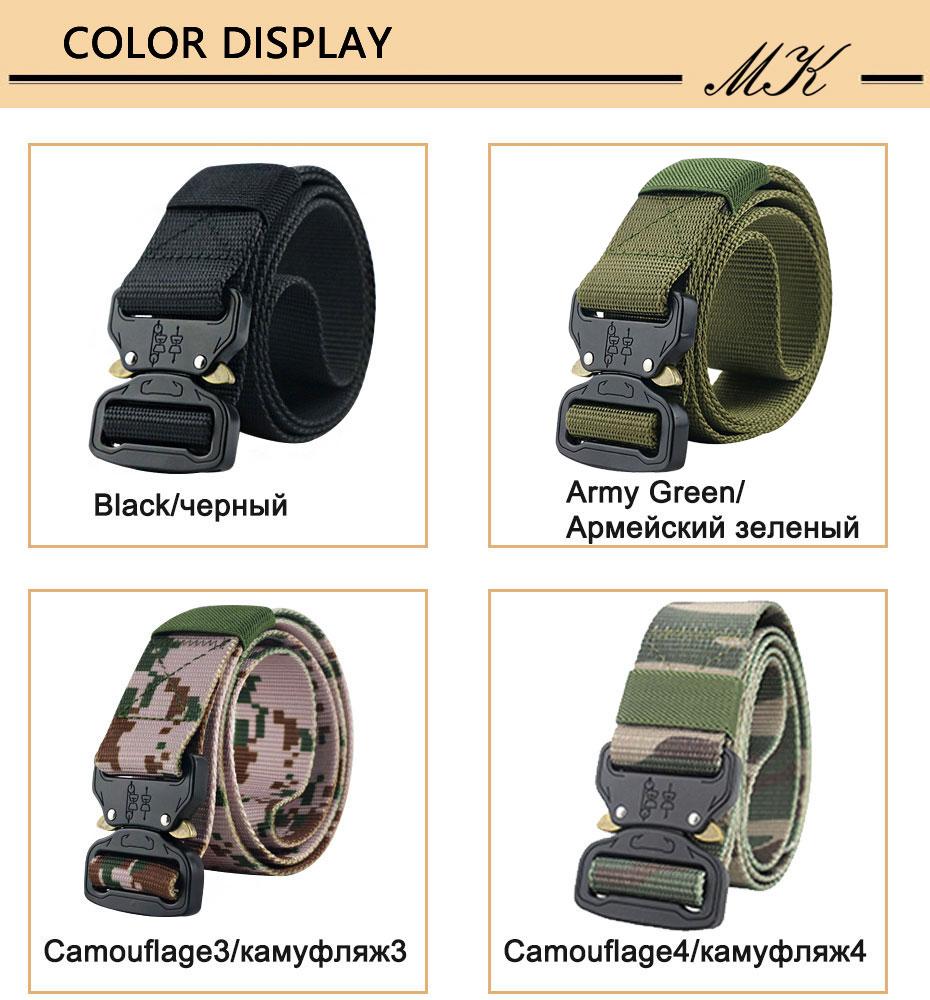 Maikun пояс мужской ремень военное оборудование боевые тактические ремни для мужчин армейский обучений нейлоновый пояс с металлической пряжкой открытый охотничий ремень