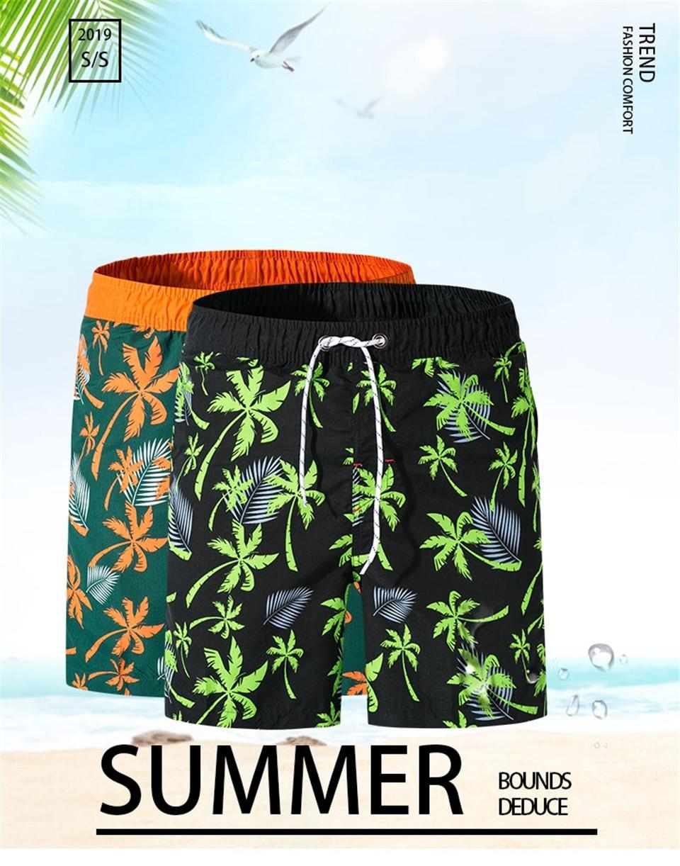 Calças curtas de praia shorts de praia