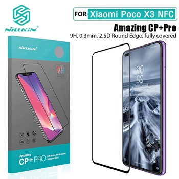 For Xiaomi POCO X3 NFC Screen Protector Nillkin CP+PRO H/H+Pro XD CP+MAX Tempered Glass For Xiaomi POCO X3 NFC Glass