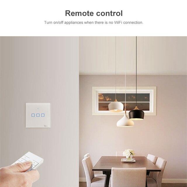 SONOFF RM433 télécommande + Base version mise à jour adapté pour SONOFF Basicrf/slam pher/ iFan03/ 4CHProR 2/ 433 RF pont