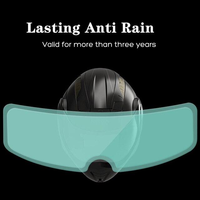 Universal Anti-Rain Full Face Helmet Lens 1