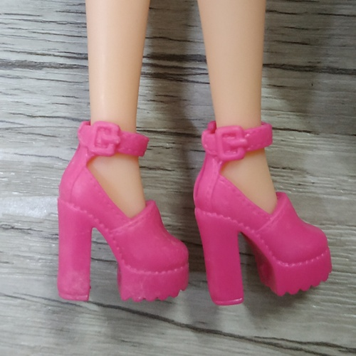 1/6 Doll Shoes Mix style High Heels Sandals Boots Colorful Assorted Shoes Accessories For Barbie Doll Baby Xmas DIY Toy 7