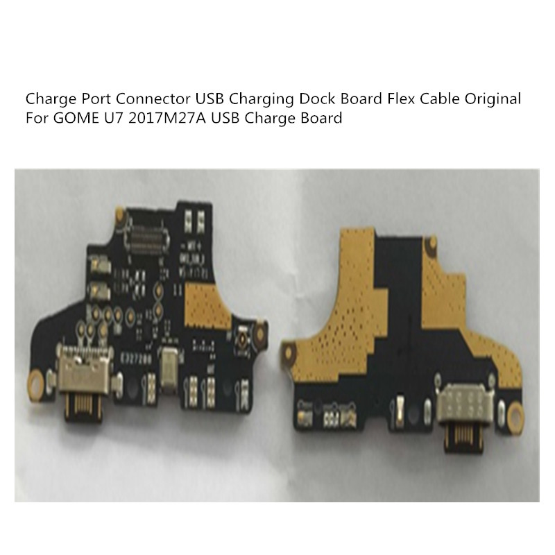 New  For GOME U7 2017M27A USB Charge Board Tested Good Charge Port Connector USB Charging Dock Board Flex Cable Original